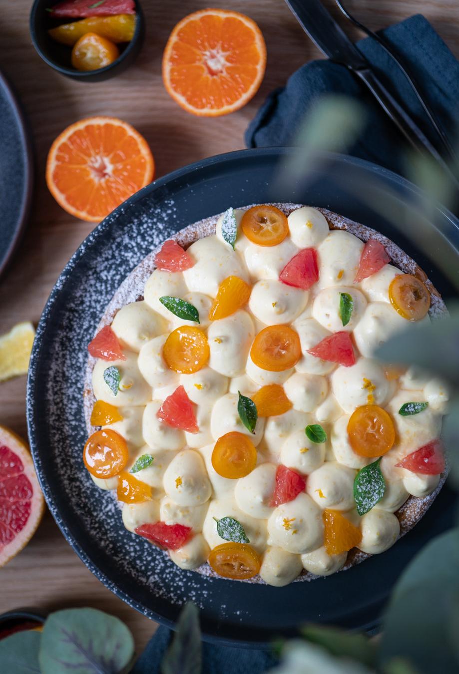 Tarte au citron, pâte feuilletée façon Arlette et crème d'amande au citron