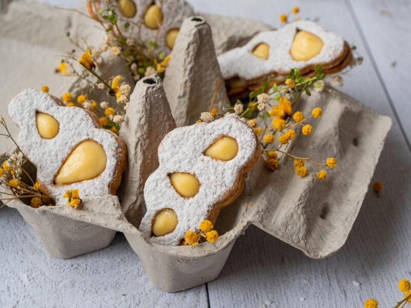 Recette biscuits sablés nuage citron et bergamote