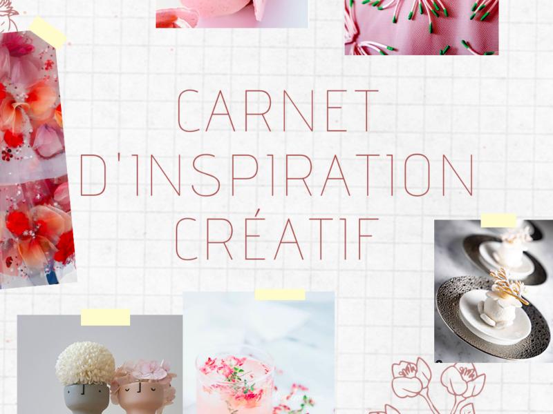 carnet d'inspiration créatif
